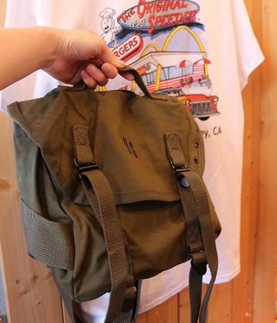 コンバットバッグ ミリタリーショルダーバッグ M1961バッグ ミリタリー雑貨 アメリカ雑貨屋 サンブリッヂ