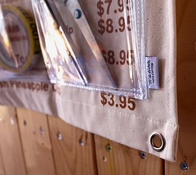 ビニールウォールポケット マハロカフェ ハワイアン アメリカ雑貨屋 サンブリッヂ