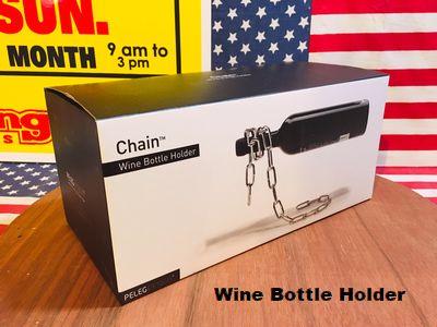 ワインボトルホルダー チェーンホルダー ワインラック 酒ホルダー アメリカ雑貨 通販 サンブリッヂ