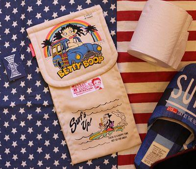 ベティトイレットペーパーホルダー BETTYBOOP ベティちゃん トイレ用品 アメリカ雑貨通販 サンブリッヂ 通販商品