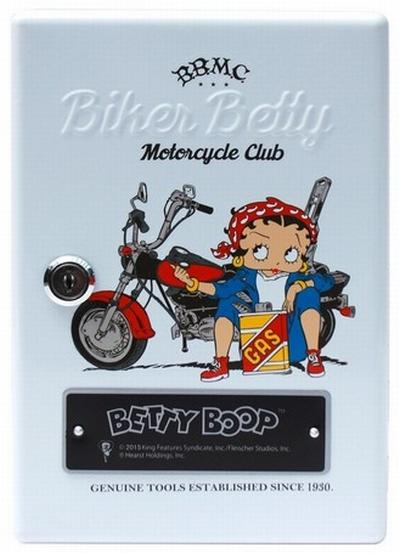 ベティキーキャビネット 壁掛け 鍵24個 BETTYBOOP アメキャラ アメリカン雑貨 サンブリッヂ 通販商品