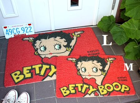 ベティ玄関マット ベティコイルマット ベティちゃんマット サンブリッヂ アメリカン雑貨 通販