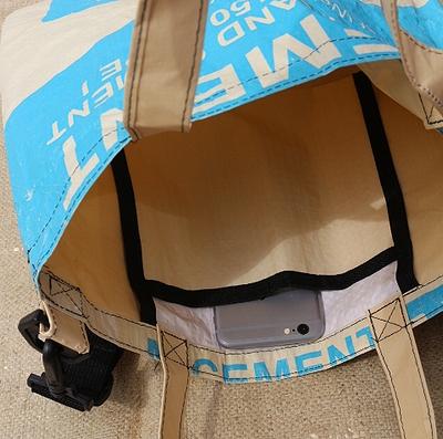 セメントバッグ  セメント袋リメイク アメリカ雑貨通販 アメリカ雑貨屋 サンブリッヂ