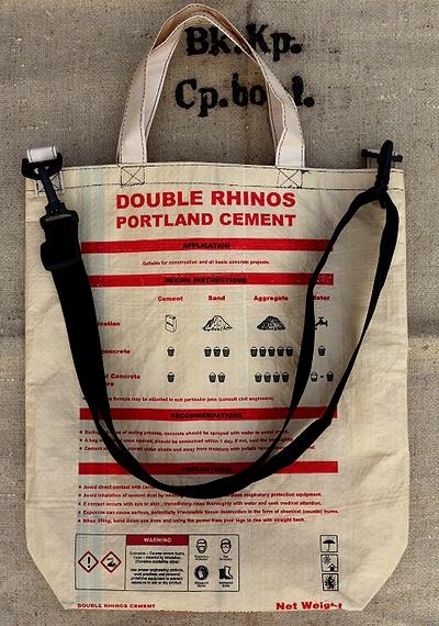 セメントバッグ ライノー  セメント袋リメイク アメリカ雑貨通販 アメリカ雑貨屋 サンブリッヂ