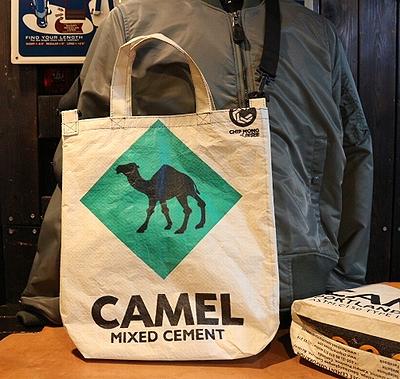 セメントバッグ セメントバッグキャメル セメント袋リメイク アメリカ雑貨通販 アメリカ雑貨屋 サンブリッヂ