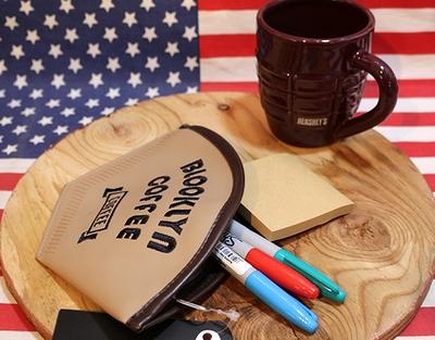 コーヒーフィルターポーチ アメリカンポーチ ビニールポーチ アメリカ雑貨通販 アメリカ雑貨屋 サンブリッヂ
