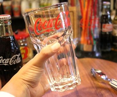 コーラグラス コカコーラ ユーログラス cocacola コーラグッズ アメリカ雑貨屋 サンブリッヂ