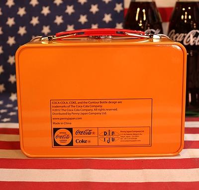 コーラミニランチボックス ブリキボックス コカコーラ COKETINCAN アメリカ雑貨通販 サンブリッヂ