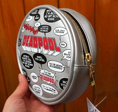 デッドプールポーチ 丸型ポーチ DEADPOOL アメコミ アメリカ雑貨屋 サンブリッヂ