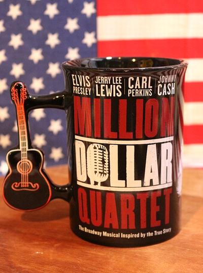 ミリオンダラーカルテットマグカップ 60周年記念 公式マグカップ アメリカ雑貨通販 アメリカ雑貨屋 サンブリッヂ