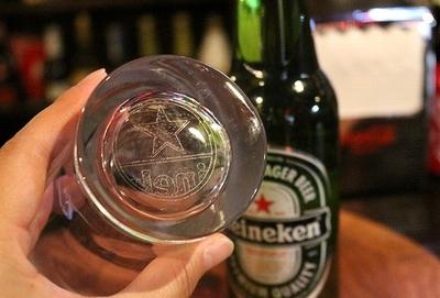 ハイネケンフレンチグラス フレンチグラス ハイネケン 500mlグラス アメリカ雑貨通販 岩手雑貨屋 サンブリッヂ