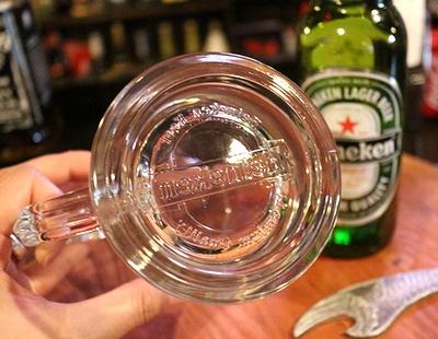 ハイネケンビアジョッキ ジョッキグラス ハイネケン 250mlグラス アメリカ雑貨通販 岩手雑貨屋 サンブリッヂ