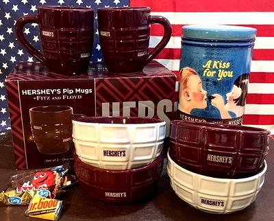 ハーシーズキャンディボウル ハーシーズマ食器 カフェオレボウル HERSHE'S アメリカ雑貨通販 アメリカ雑貨屋 サンブリッヂ