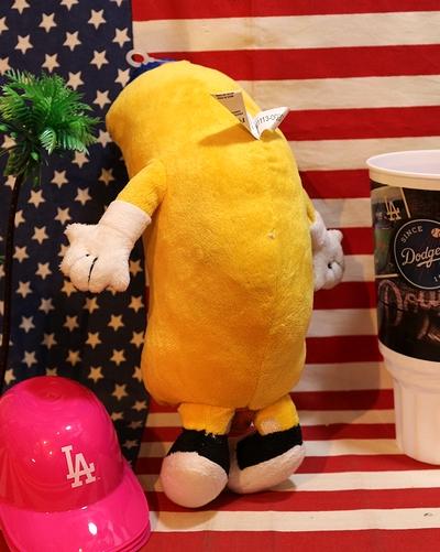 ドジャースホットドッグマン ドジャーススタジアムグッズ ホットドッグ人形 アメリカ雑貨屋 サンブリッヂ アメリカン通販