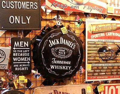 ジャックダニエル看板 王冠サイン JACK DANIELS ジャックダニエル アメリカ雑貨屋 サンブリッヂ スターウォーズ通販
