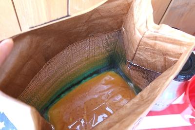 ランチバッグ 保冷バッグ 耐水・防水 タイべック素材 キッチン雑貨 アメリカ雑貨屋 サンブリッヂ 通販 通販商品
