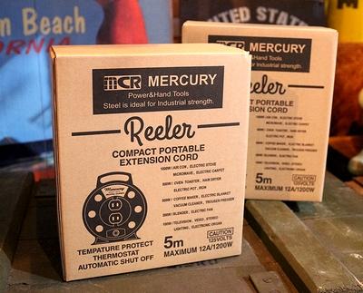 マーキュリー延長コード マーキュリーリーラー アメリカンコンセント MERCURY アメリカ雑貨通販 サンブリッヂ 通販商品