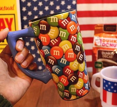 エムアンドエムズ トラベルマグ マーブル サーモマグ m&m's アメリカ雑貨屋 サンブリッヂ
