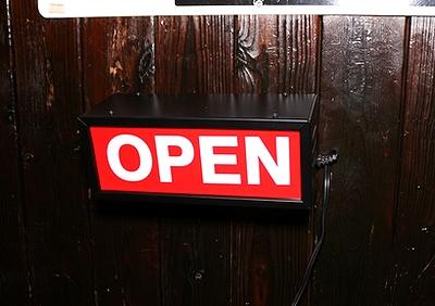 アメリカンサインランプ OPENランプ コンセント付きランプ アメリカ雑貨屋サンブリッヂ SUNBRIDGE 岩手雑貨屋