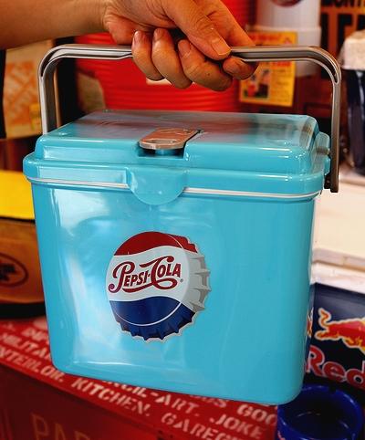 ペプシクーラーボックス クーラーボックス PEPSI アウトドアグッズ  アメリカ雑貨屋 サンブリッヂ アメリカ雑貨通販
