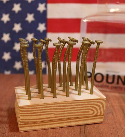釘爪楊枝 パーティピック おもしろ爪楊枝 アメリカ雑貨通販 サンブリッヂ 通販商品