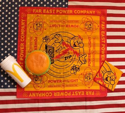 レディキロワットバンダナ バンダナ ハンカチ 弁当包み アメリカ雑貨屋サンブリッヂ SUNBRIDGE 岩手雑貨屋