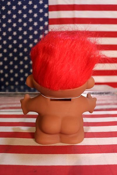 ラッキードール トロール 幸運をもたらす人形 貯金箱 アメリカ雑貨屋 SUNBRIDGE 通販