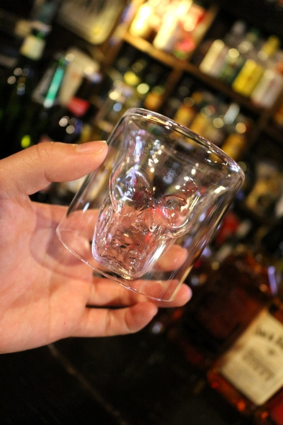 ヘッドショットスカルグラス スカル グラス アメリカ雑貨屋 SUNBRIDGE アメリカ雑貨通販