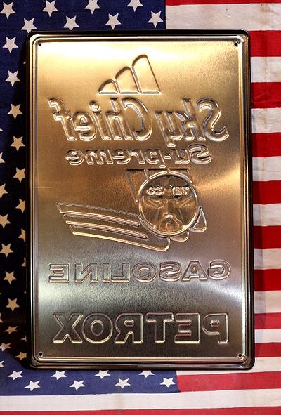 テキサコ看板 アメリカンサインボード TEXACO 看板 アメリカ雑貨屋 サンブリッヂ アメリカン通販