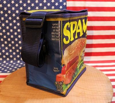 スパムランチバッグ 保冷バッグ ランチバッグ クーラーバッグ SPAM アメリカ雑貨屋 サンブリッヂ アメリカ雑貨通販