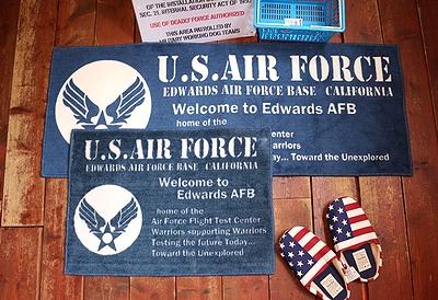 エアフォースマット インテリアマット AIRFORCEインテリア雑貨 アメリカ雑貨屋 サンブリッヂ