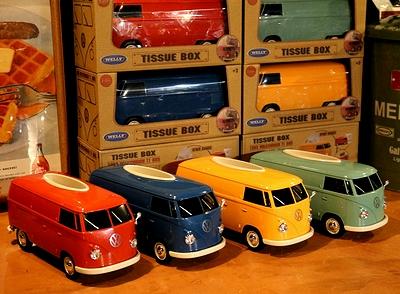 ワーゲンバスティッシュケース  ワーゲンバスティッシュボックス 1963年ワーゲンバス ワーゲンバス雑貨 アメリカ雑貨通販